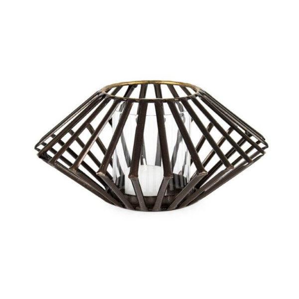 Aura angled tealight holder