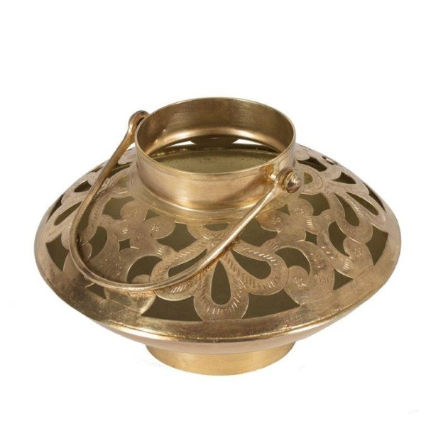 Handcrafted bowl shaped lantern