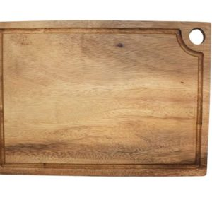 Acacia square chopping board