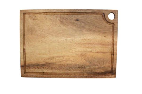 Acacia square chopping board