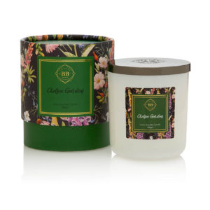 Chelsea Gardens triple scented candle