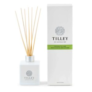 Coconut & Lime - 150ml triple scented Australian made reed diffuser
