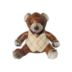 Faux Leather Teddy door stop