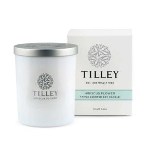 Hibiscus Flower - 240g Australian made triple scented soy wax candle