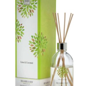 Lime & Coconut - 180 ml Australian made reed diffuser