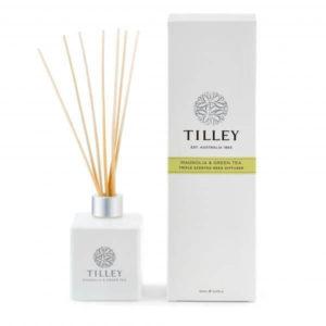 Magnolia & Green Tea - 150ml triple scented Australian made reed diffuser