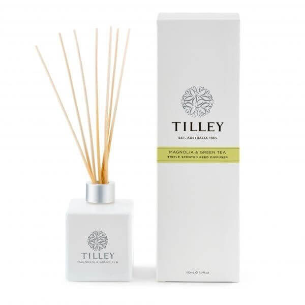Magnolia & Green Tea - 150ml triple scented Australian made reed diffuser