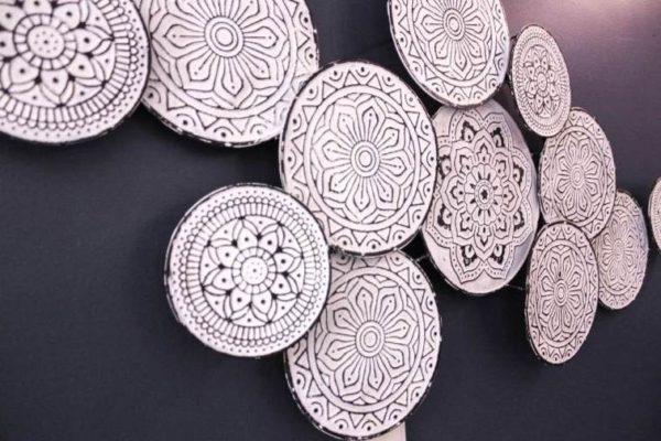 Moroccan Multi-Disk Wall Art