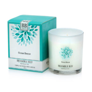 Ocean Breeze - triple scented candle, hand poured in Australia