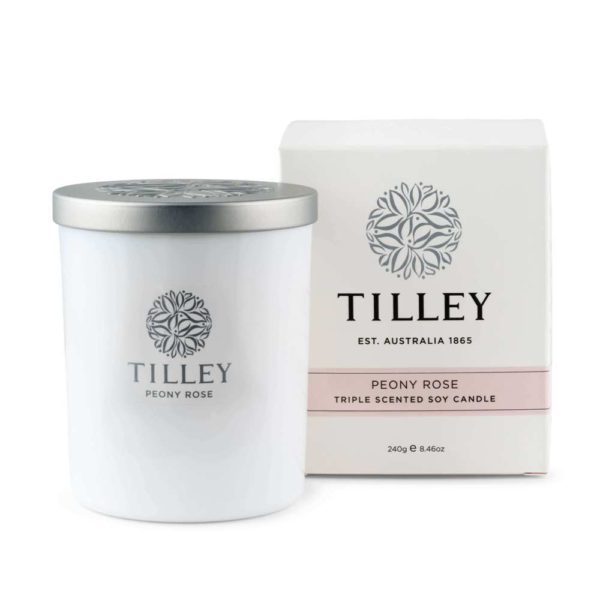 Peony Rose - 240g Australian made triple scented soy wax candle