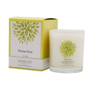 Persian Pear - triple scented candle, hand poured in Australia