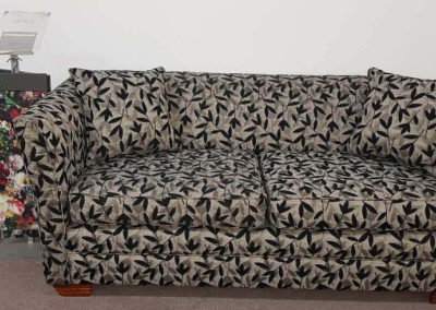 Phoenix 2 seater sofa available in any fabric choice made in Gawler range