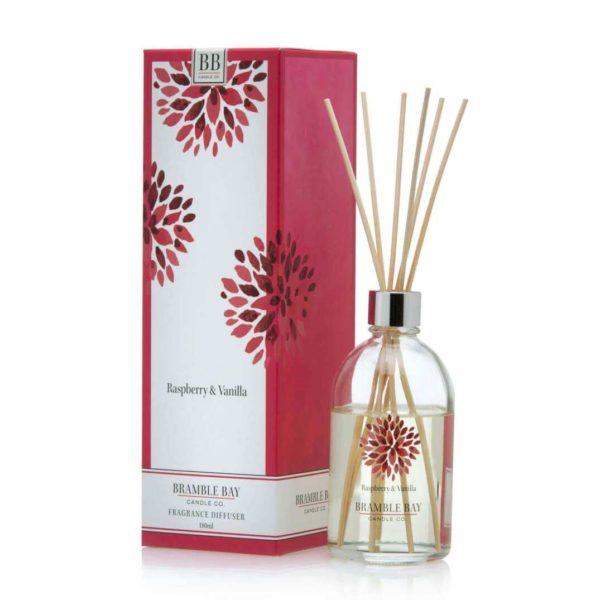 Raspberry & Vanilla - 180 ml Australian made reed diffuser