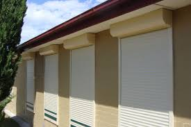 Security Shutter custom-designed and made to suit our client's specifications