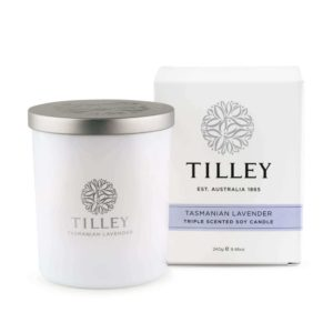 Tasmanian Lavender - 240g Australian made triple scented soy wax candle