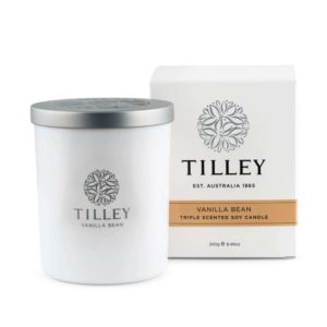 Vanilla Bean - 240g Australian made triple scented soy wax candle