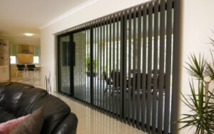 Our vertical blinds are made-to-order here in Australia