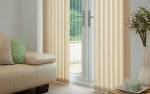 Vertical Blinds are excellent for privacy
