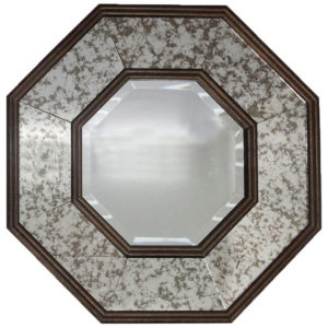 clearance sale elementals octagonal wall mirror