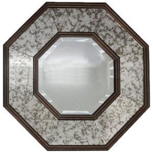 clearance sale elementals octagonal wall mirror