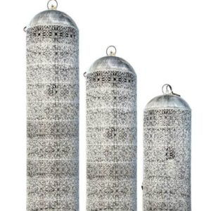 Metal filigree pendant or table lamps